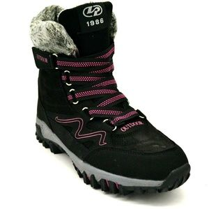 Womens Outdoor Fashion Warm Boots Size 9 Black New